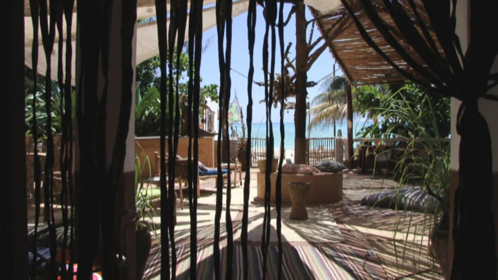 La maison Harakakite sur l'île de Zanzibar (Tanzanie)