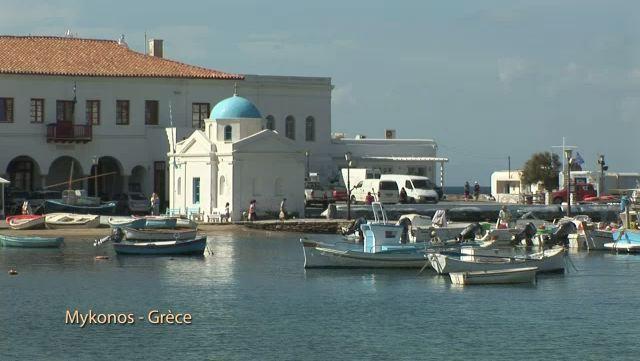 L'île de Mykonos (Grèce)