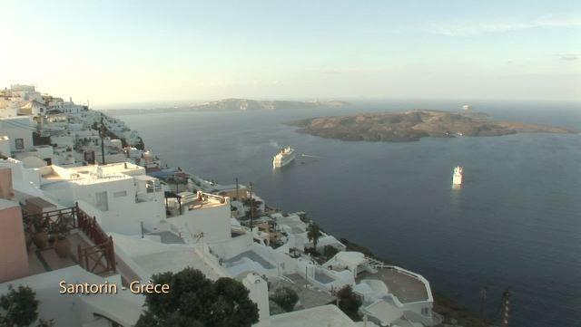 L'île de Santorin (Grèce)