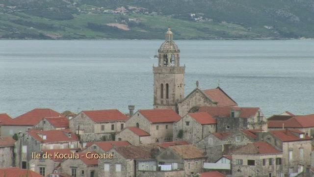 L'île de Korcula (Croatie)