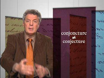 Conjoncture et conjecture