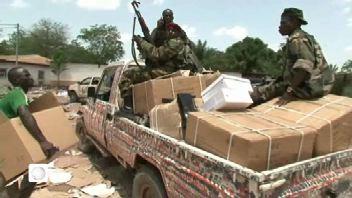Patrouilles des troupes de la Seleka