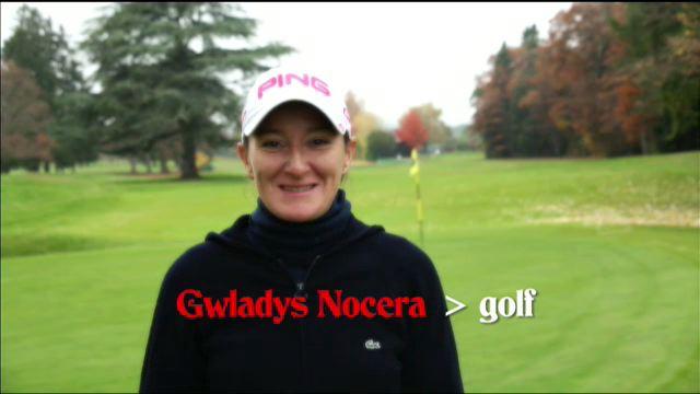 Gwladys Nocera, golf