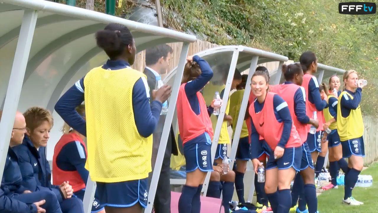 Football : Mondial 2015 - entraînement