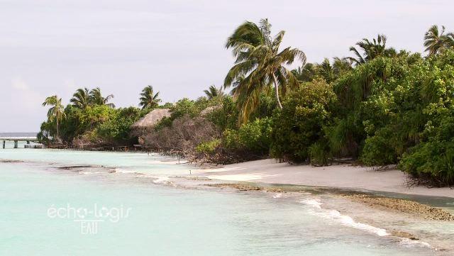 Eau aux Maldives