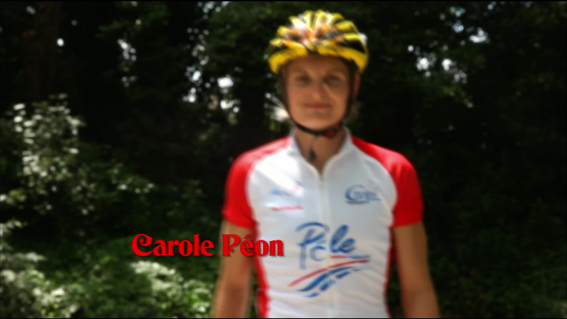 Carole Péon, triathlon