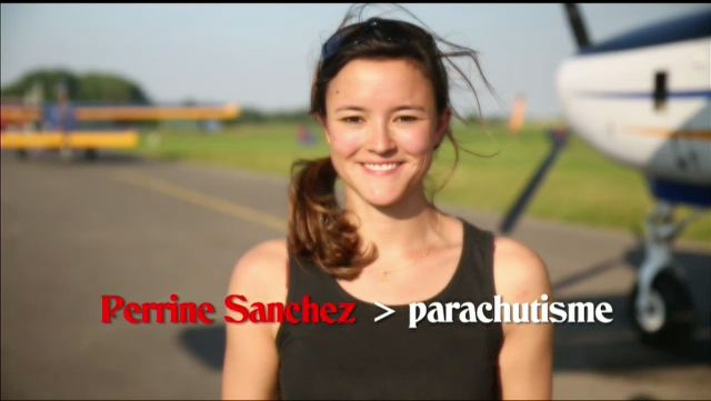 Perrine Sanchez, chute libre