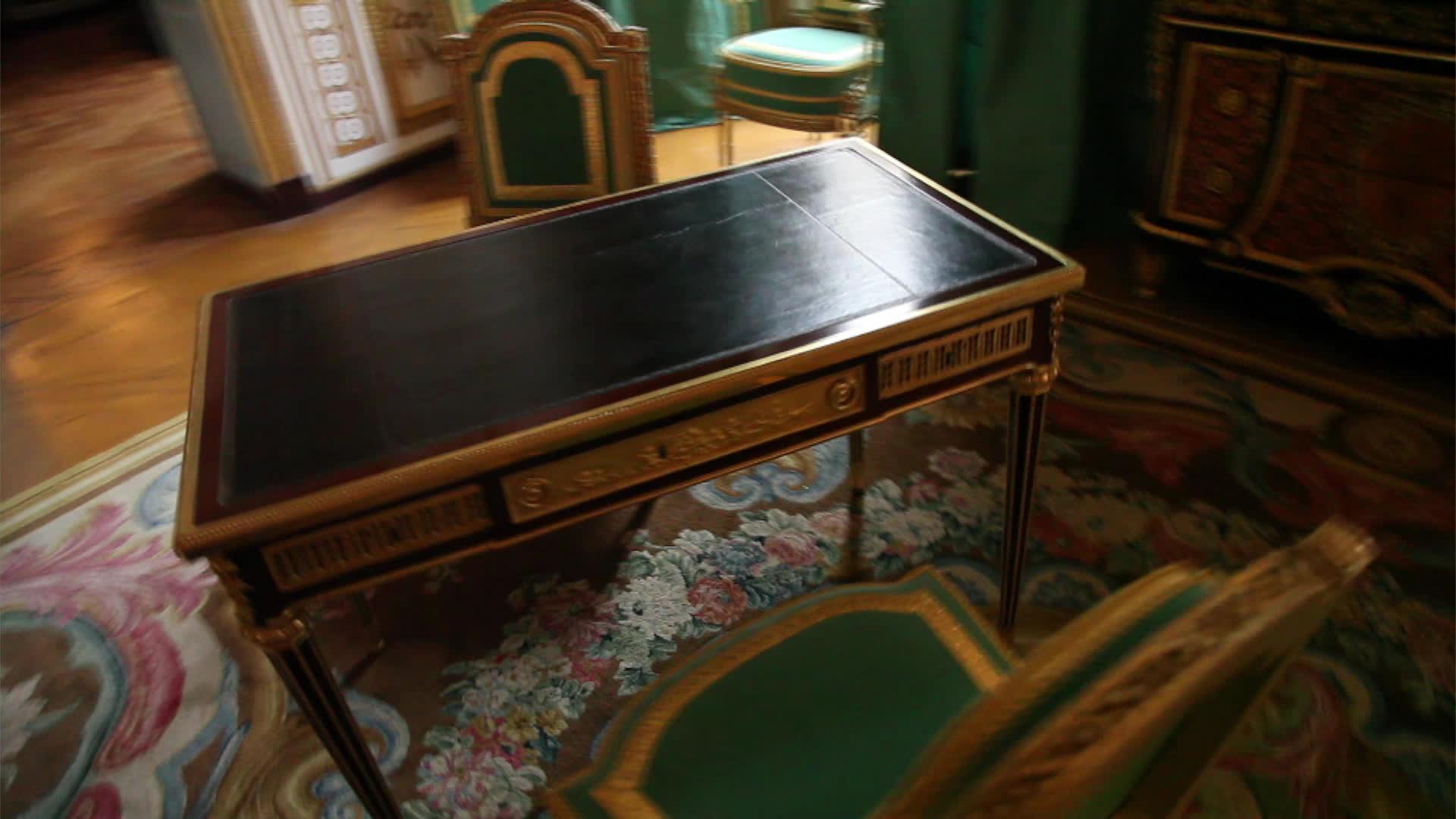 Le cabinet doré