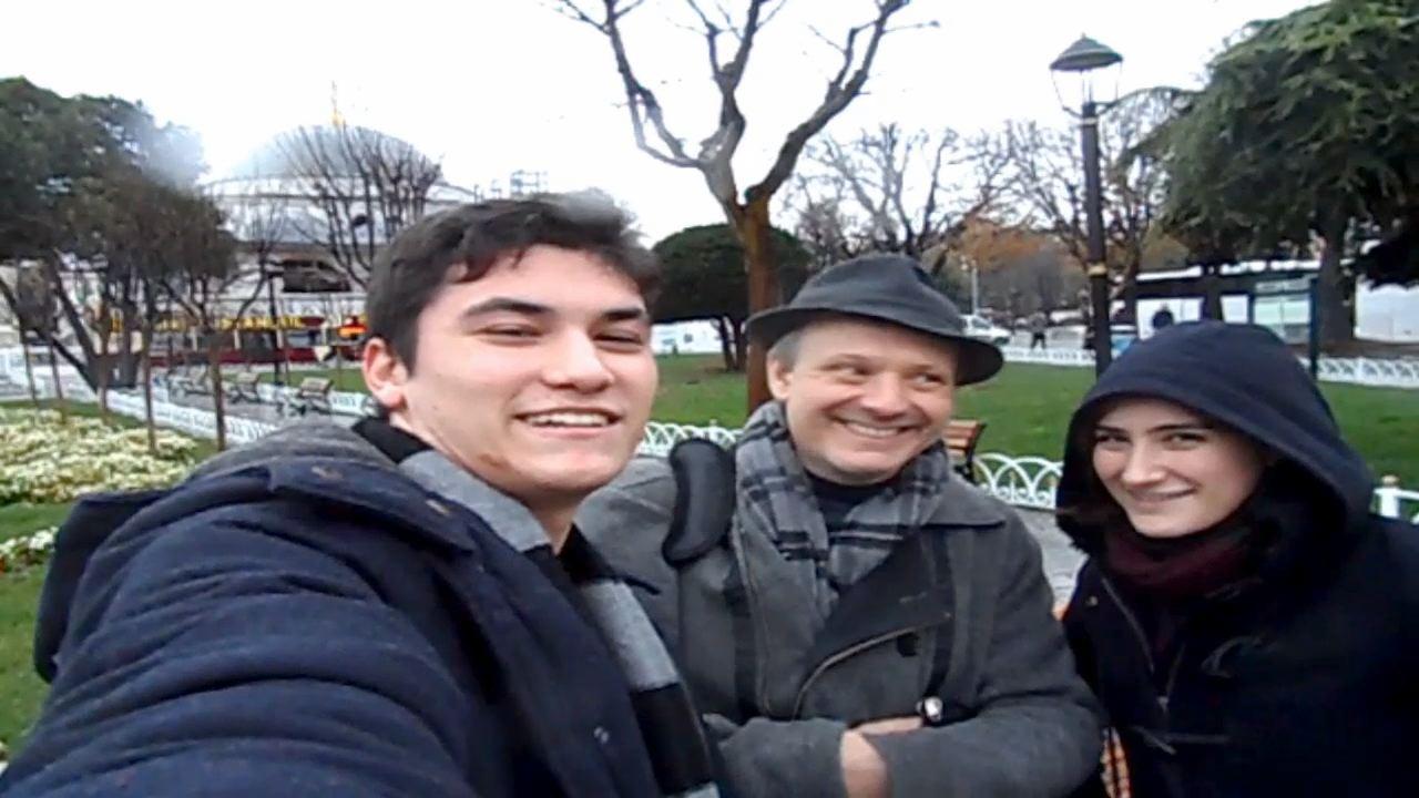 ISTANBUL - DENIZ, KEREM, CAN ERICK SULTANAHMET