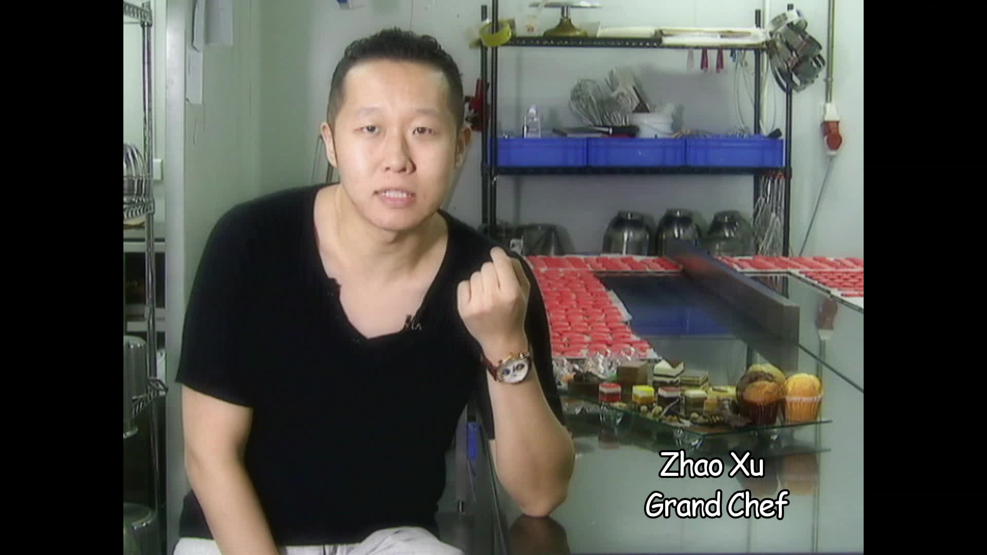 Zhao Xu : toqué de gastronomie française