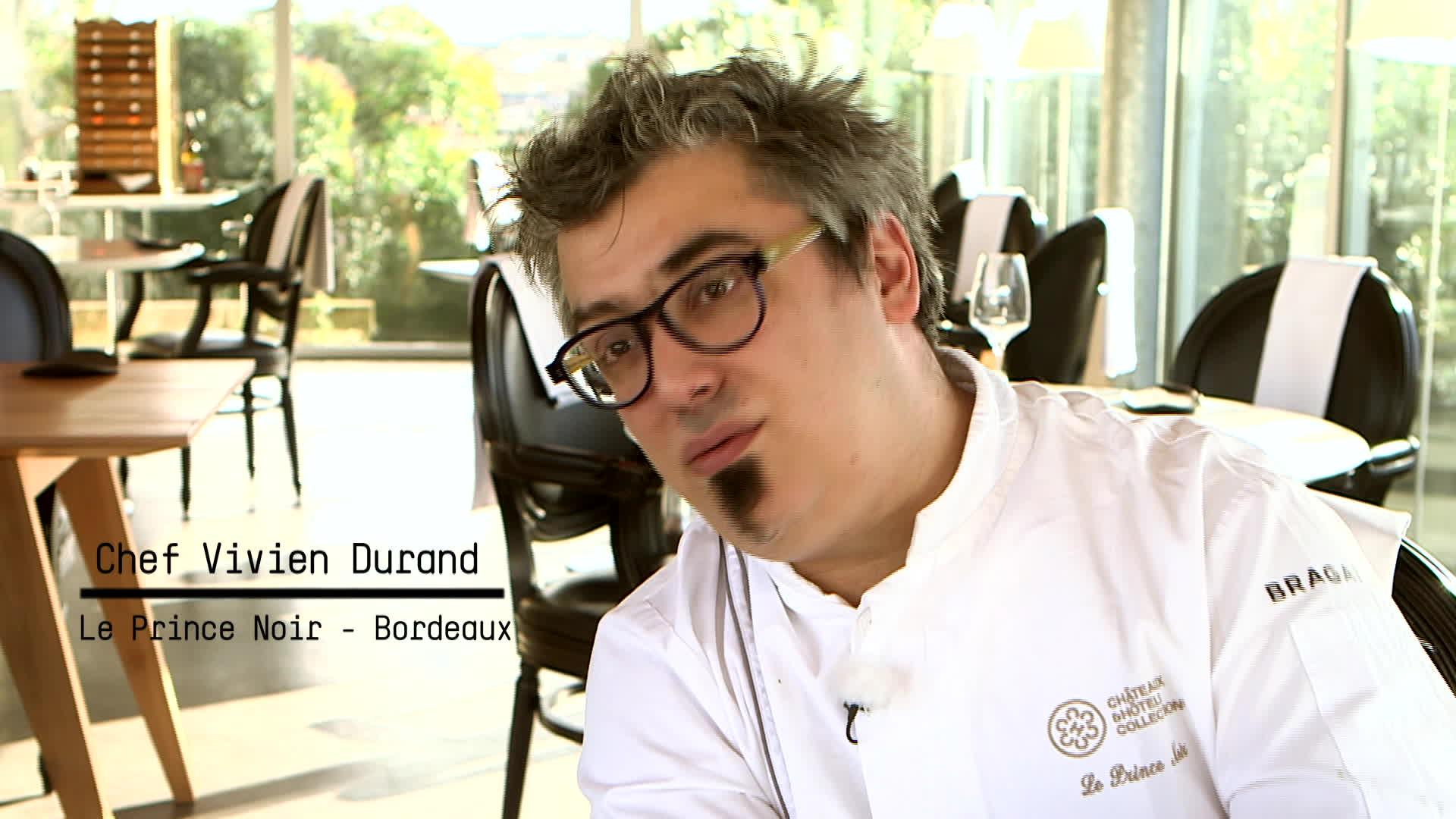 Vivien Durand -Le prince noir - Bordeaux