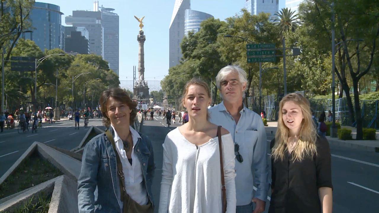 Mexique - Lucie, Alix, Catherine, Hervé
