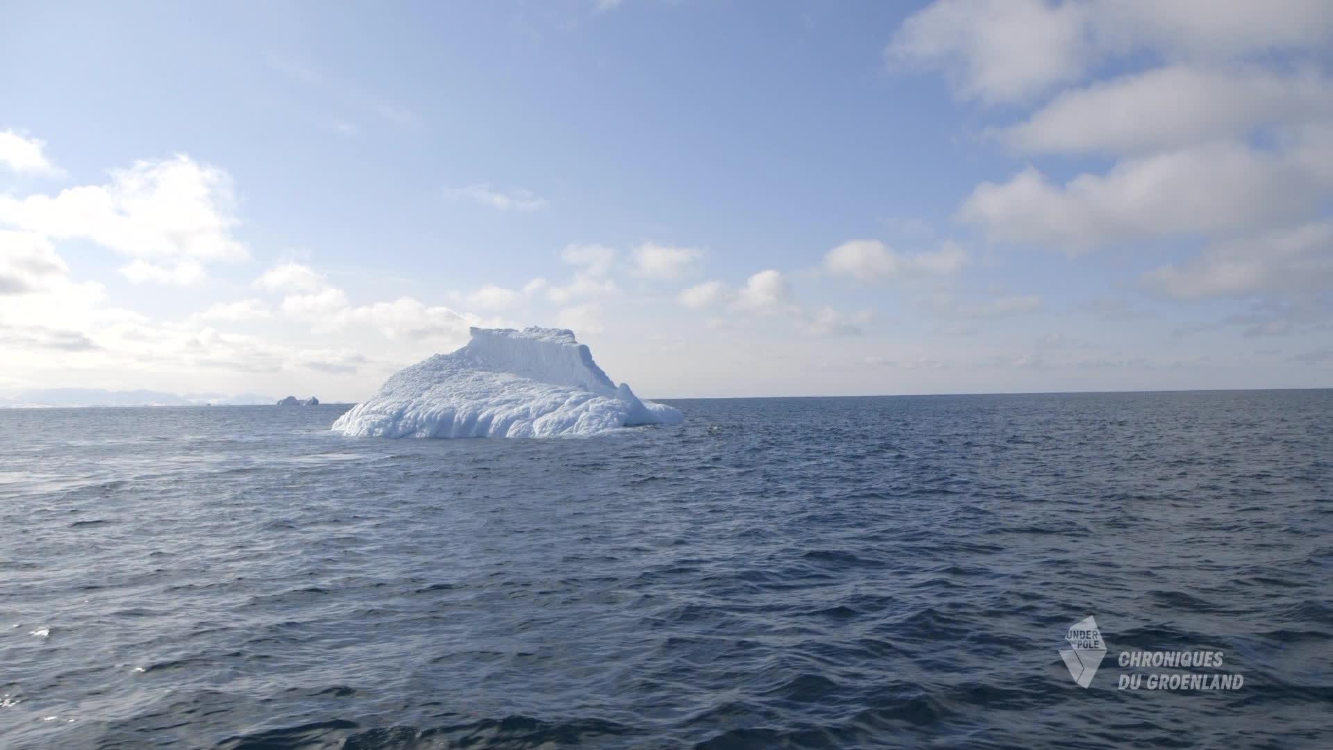 Plongée sur iceberg