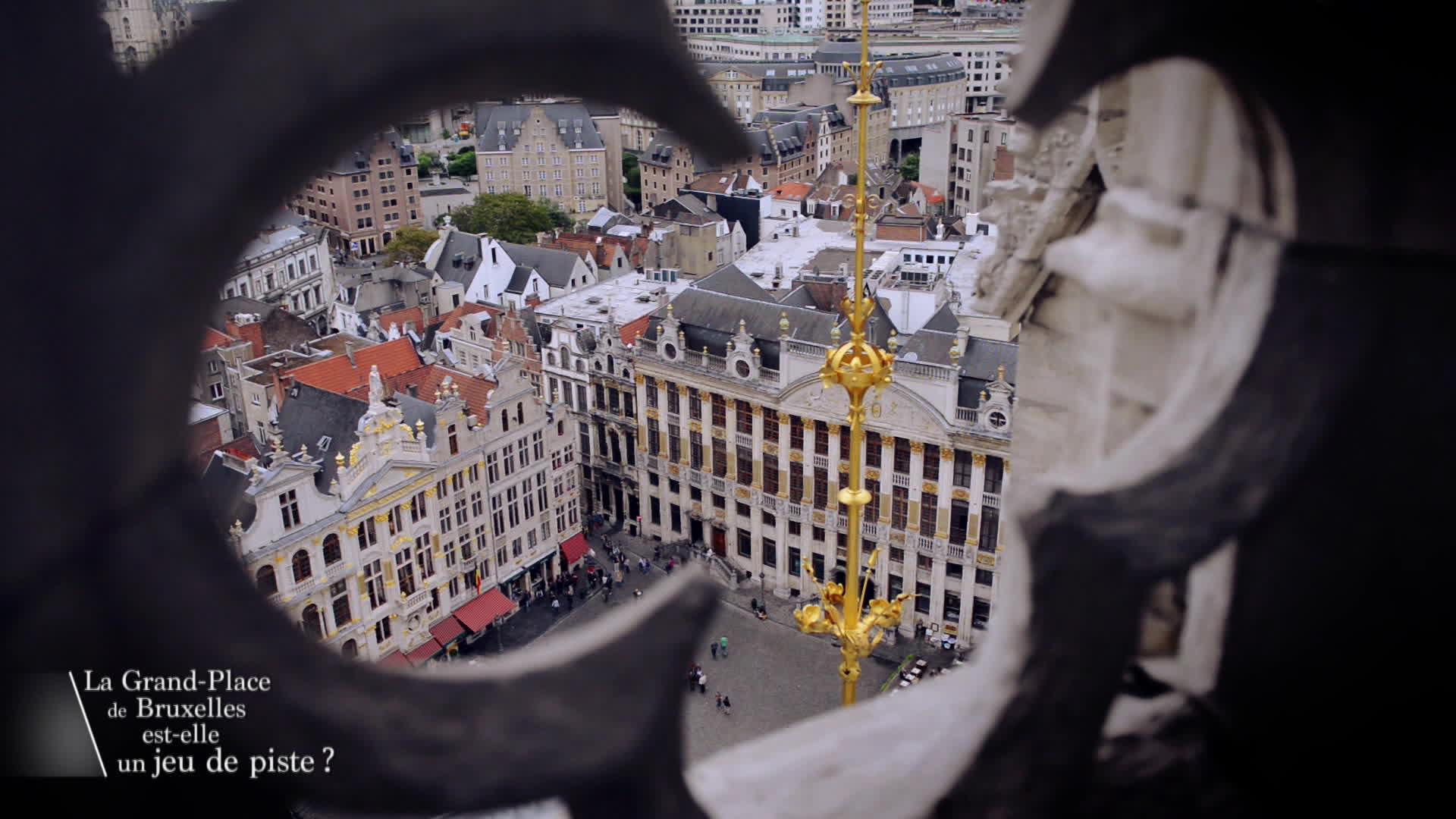 La Grand-Place de Bruxelles est-elle un jeu de piste ?
