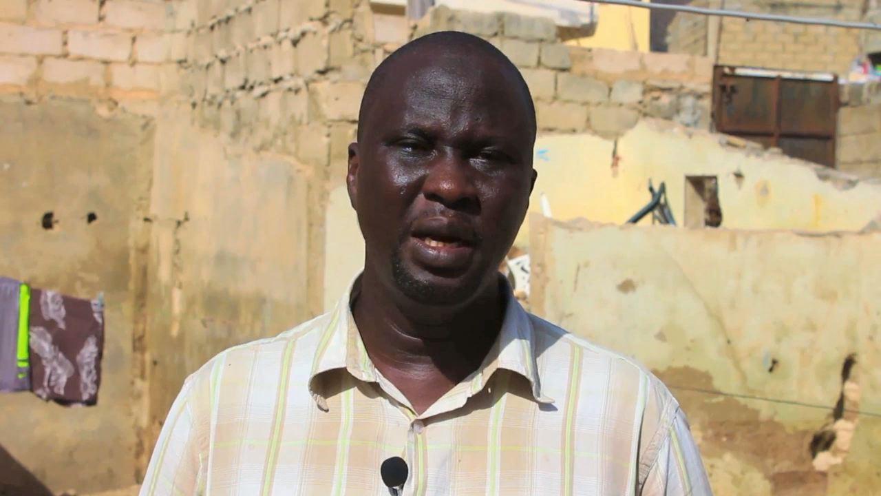 Les déplacés climatiques - Baye Makébé au Sénégal