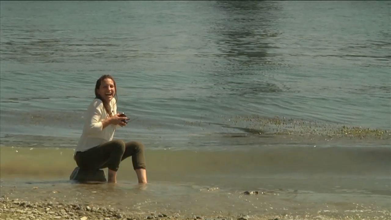 Le Rhin : baignade autorisée - Sara en Suisse