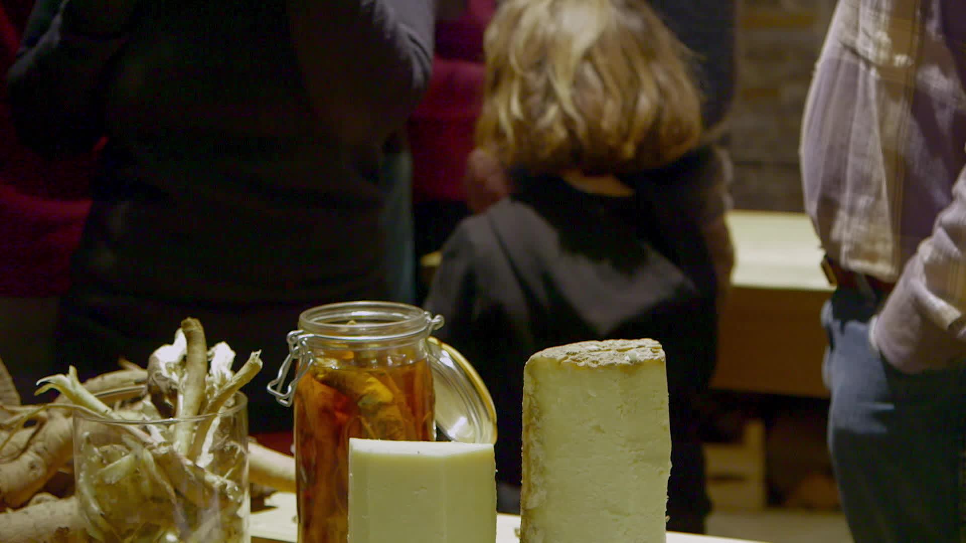 Cantal et liqueur de gentiane des monts du Cantal