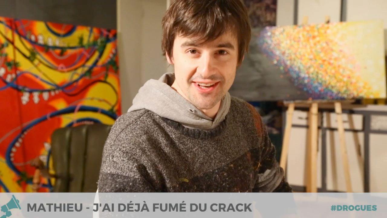 J'ai déjà fumé du crack - Mathieu à Montréal