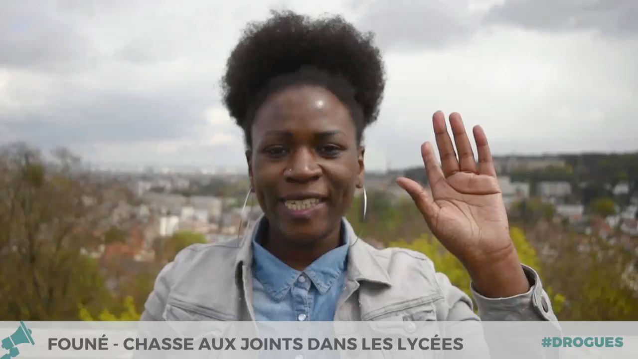 Chasse au joint dans lycées - Founé à Paris