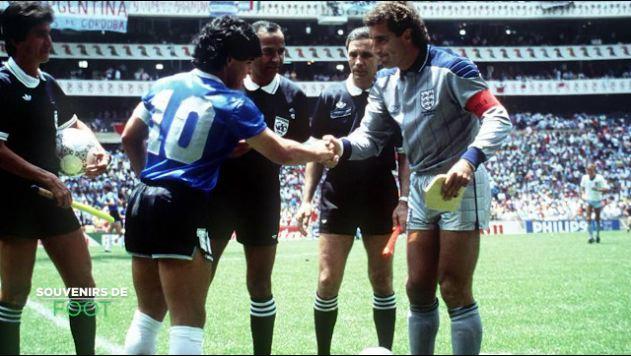 Argentine - Angleterre (1986) : la « main de Dieu »