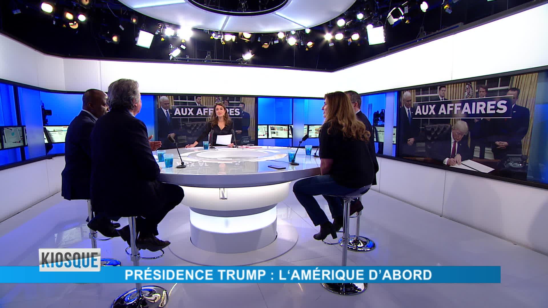 Trump / Brexit / Davos / Gambie