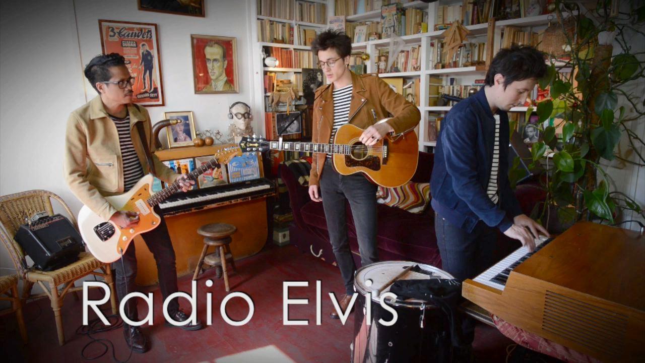 """Radio Elvis - """"Solarium"""" (dans la maison de Boris Vian)"""