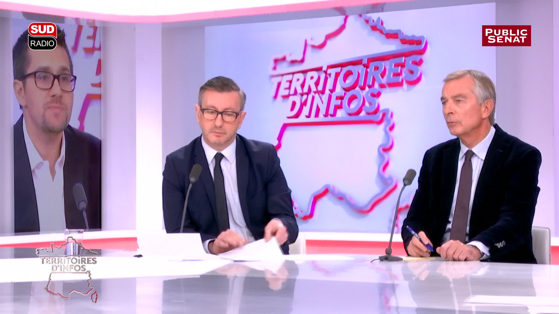 Avec Pierre Moscovici, Bernard Debré...