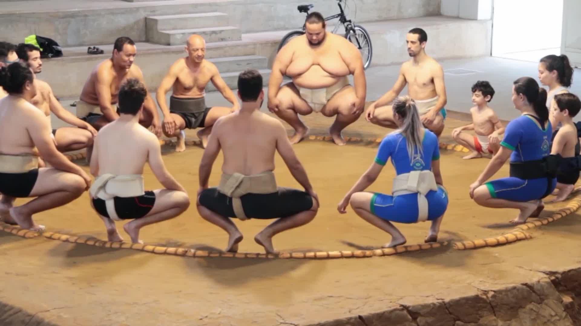 Le sumo au pays de la samba - Mathilde au Brésil