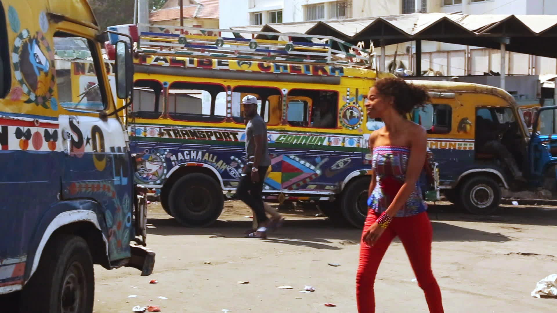 Les cars rapides de Dakar