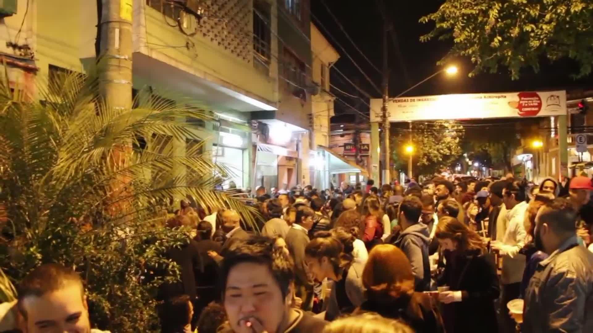 La nuit à Sao Paulo : sur un air de samba - Adeline au Brésil