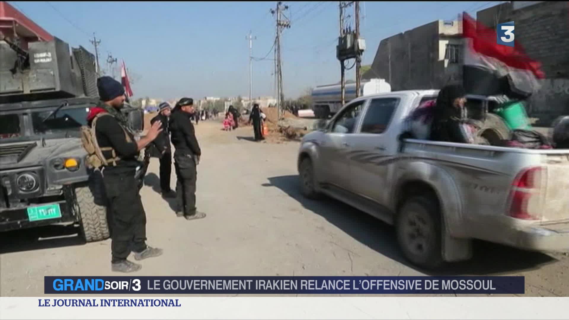 Irak : la relance de l'offensive de Mossoul