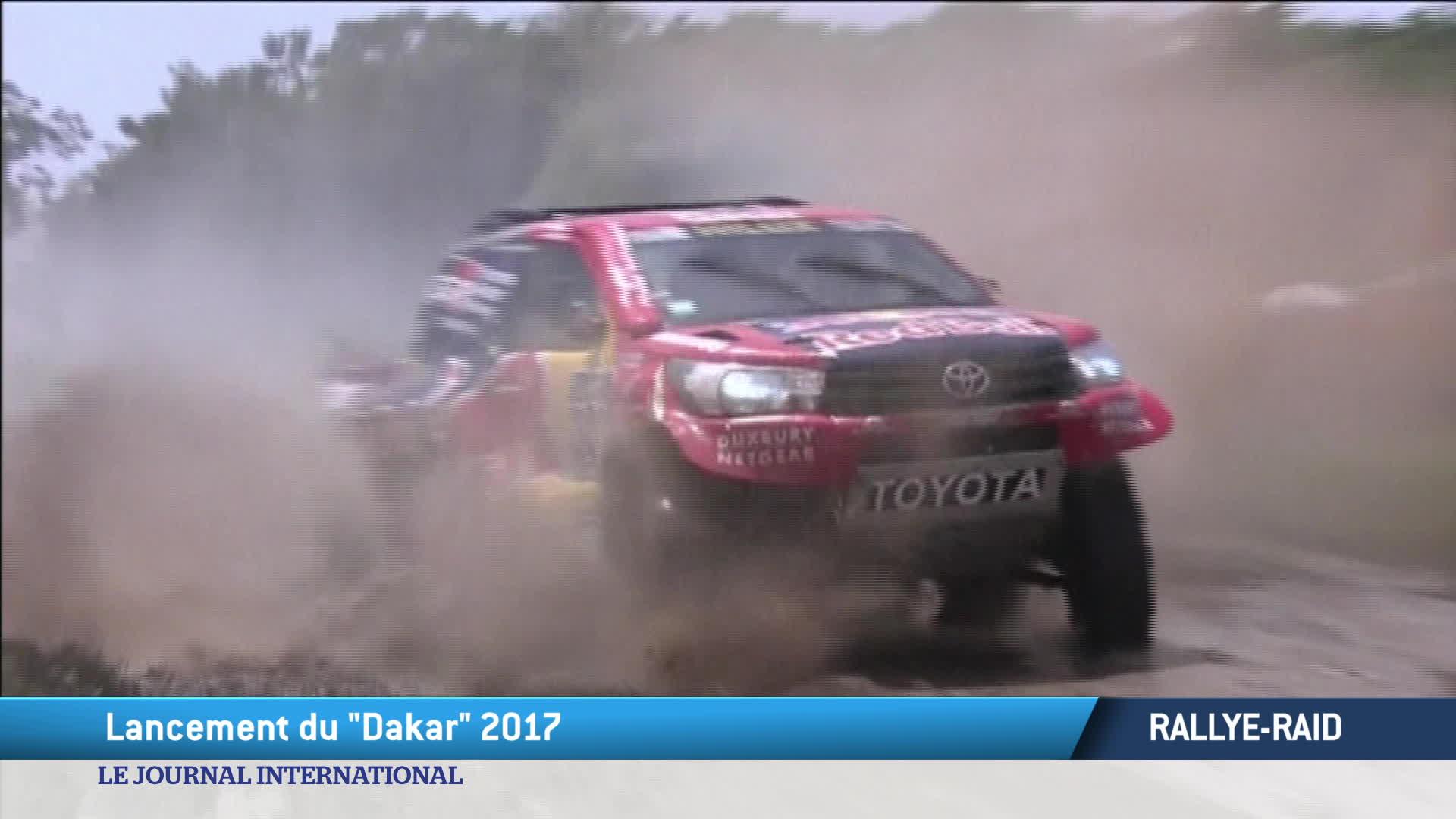 Rallye : lancement du Dakar 2017