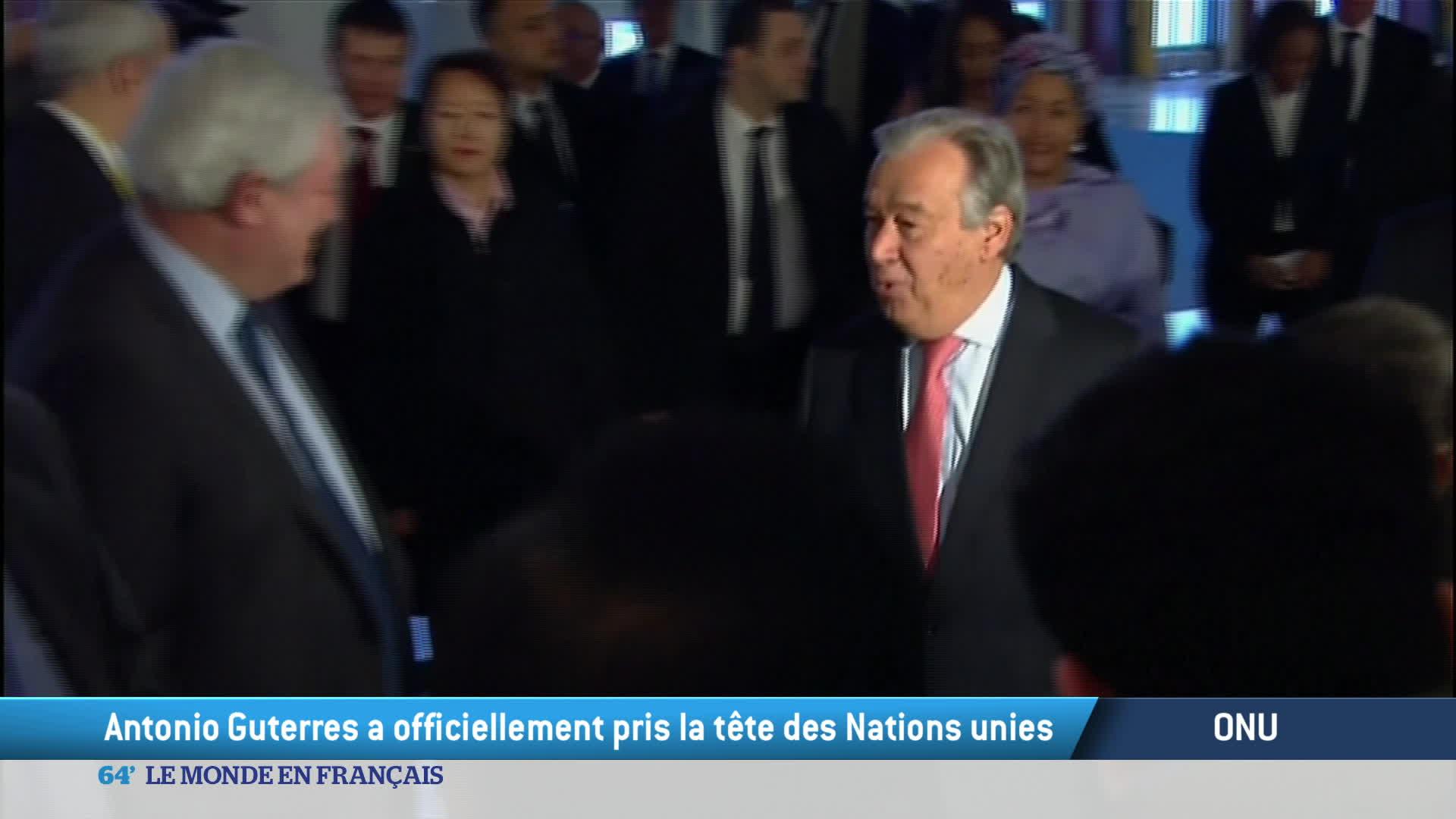 ONU : Antonio Guterres a officiellement pris ses fonctions