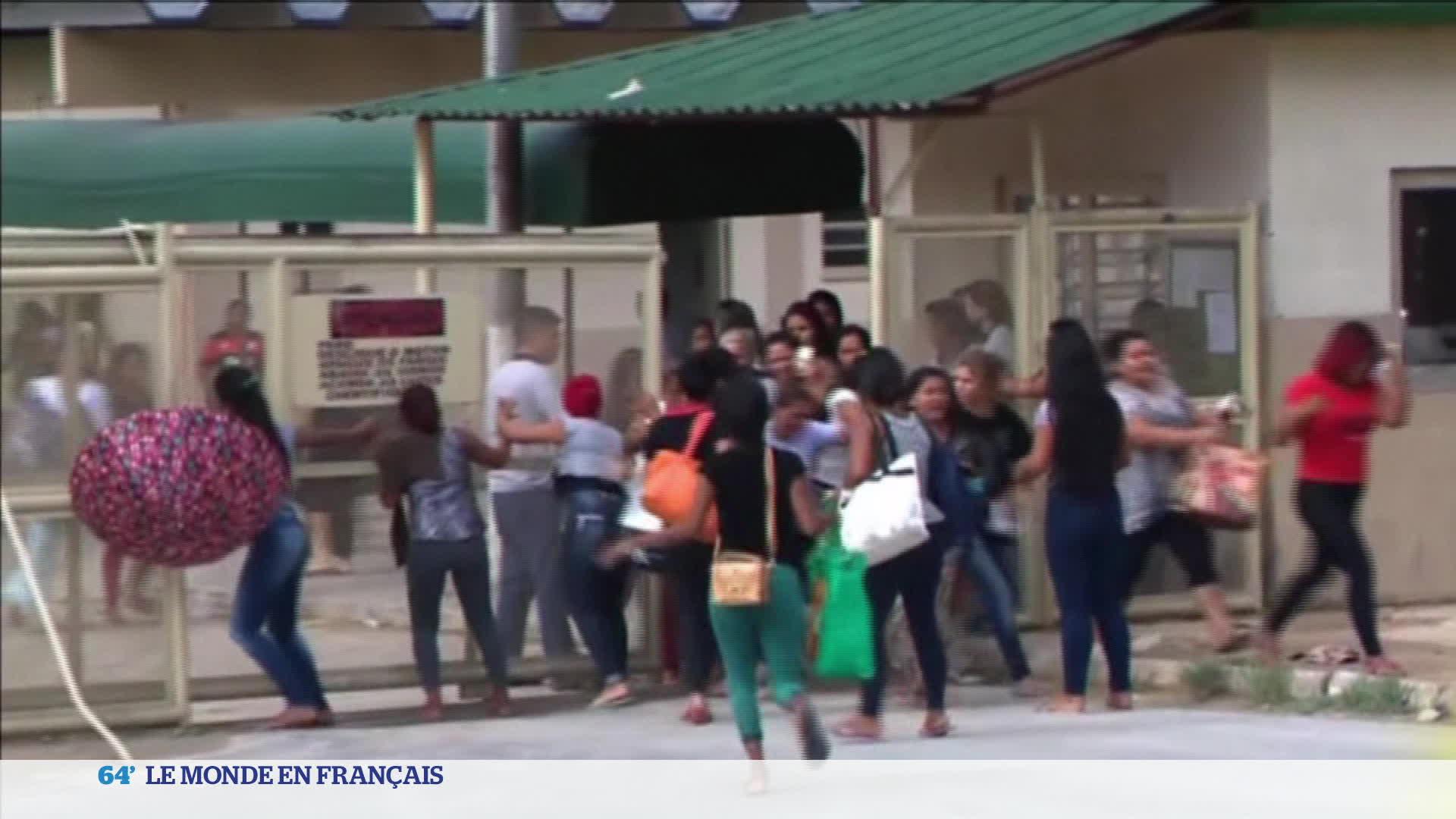 Brésil : le pays sous le choc après la mutinerie survenue dans une prison surpeu