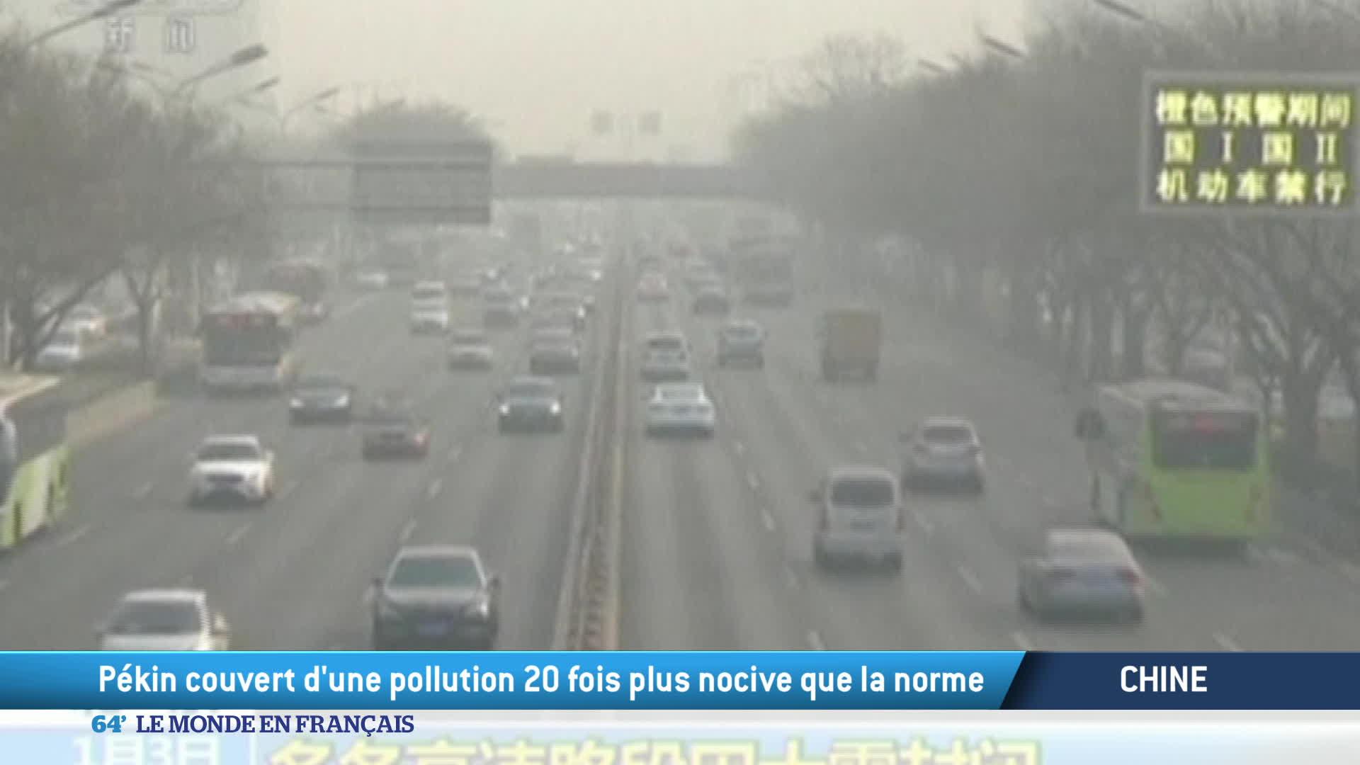 Chine : l'interminable «Airpocalypse» dans le Nord