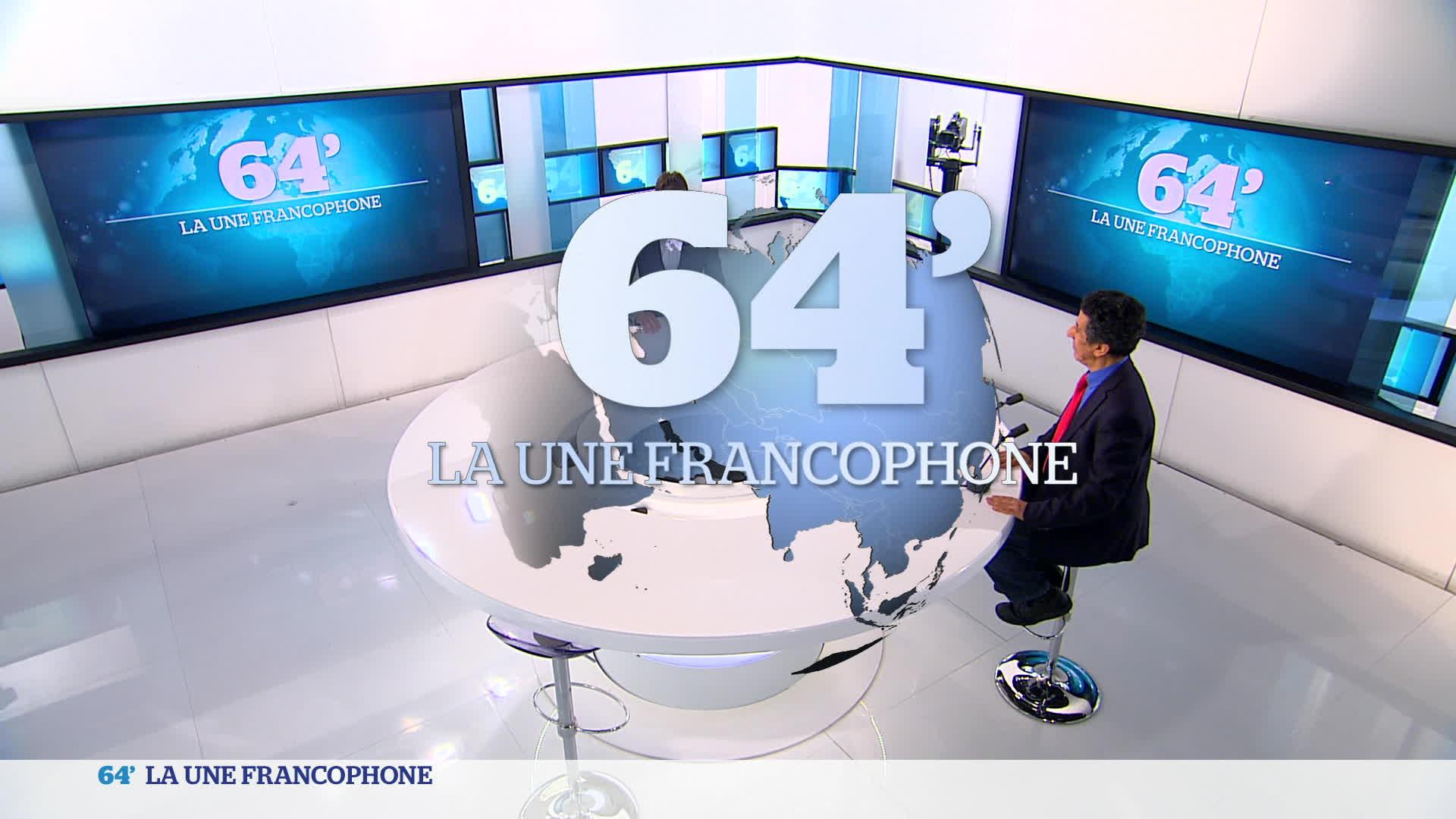 La Une francophone :
