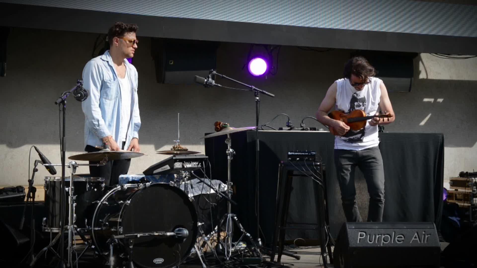 EgoPusher - Purple air