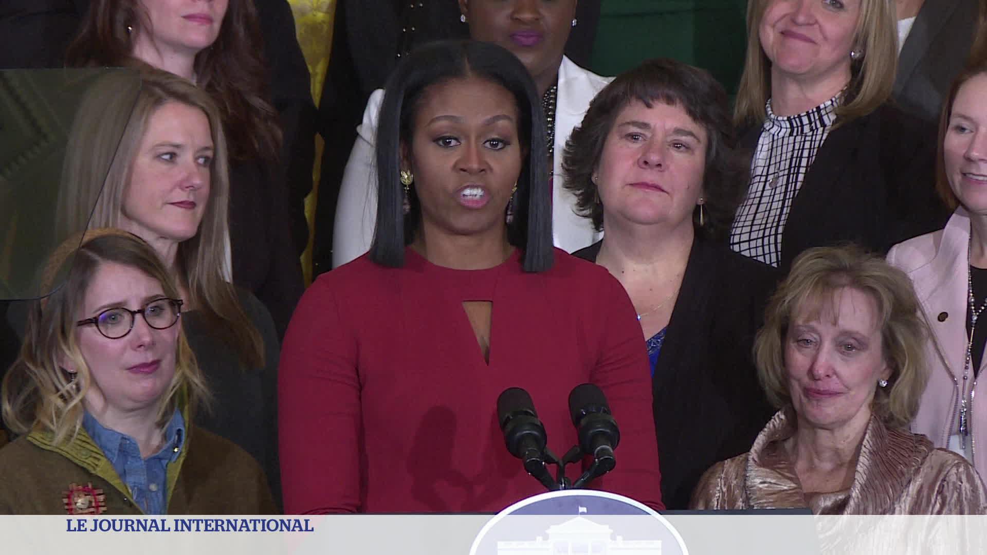 États-Unis : Les adieux de Michelle Obama et déménagement