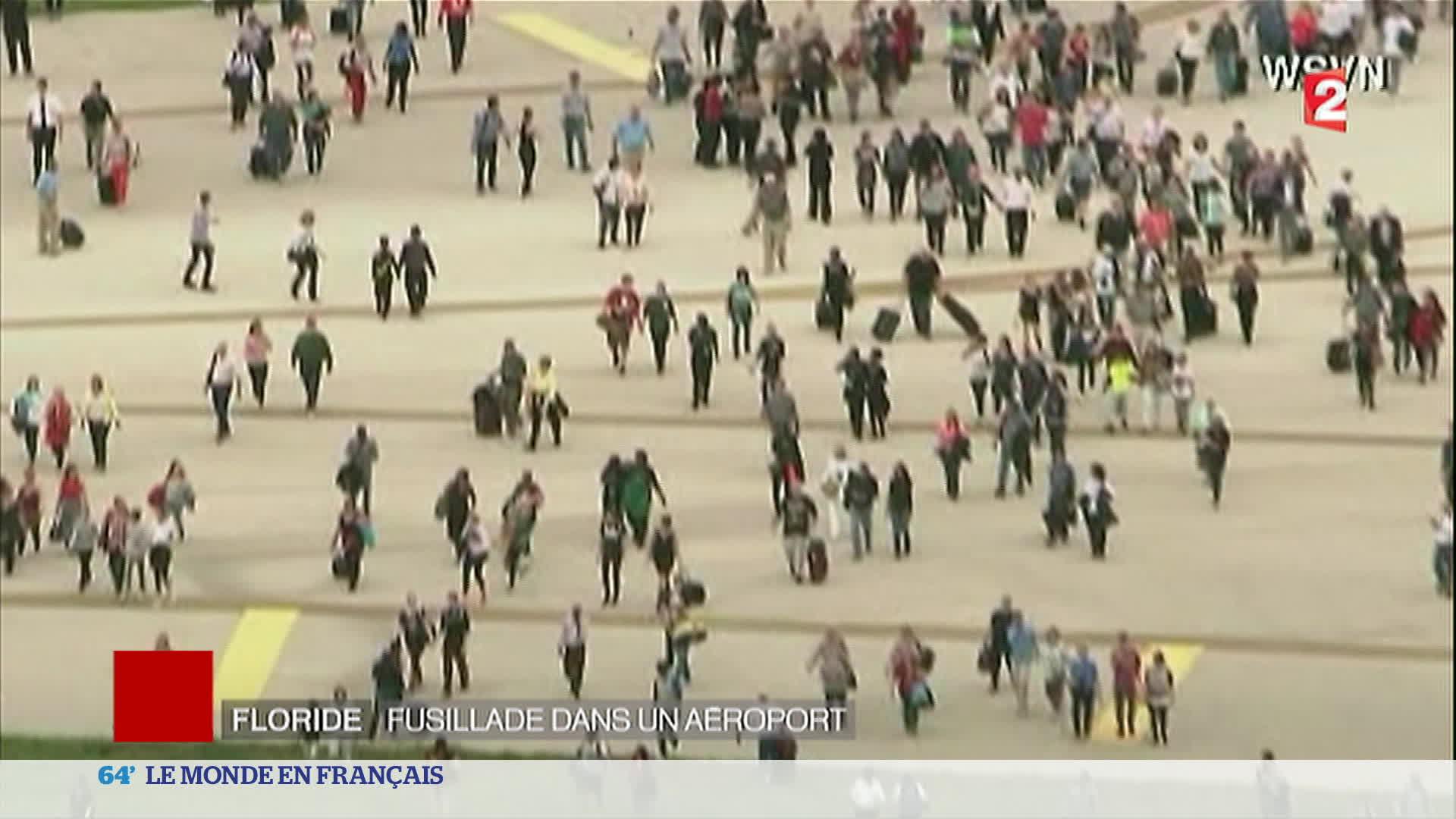 Etats-Unis : 5 morts dans une fusillade à l'aéroport de Fort Lauderdale