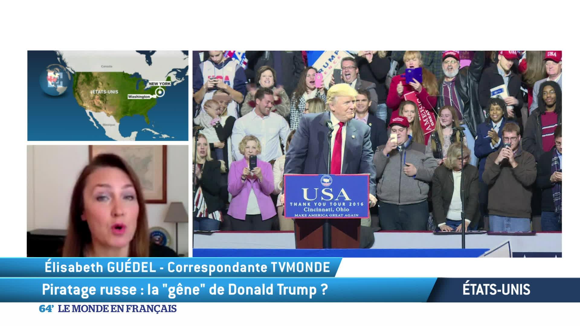 Etats-Unis : la question de l'influence de la Russie sur l'élection