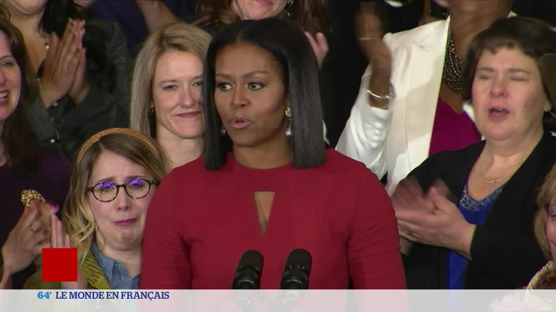 Etats-Unis : les adieux de Michelle Obama à la Maison Blanche