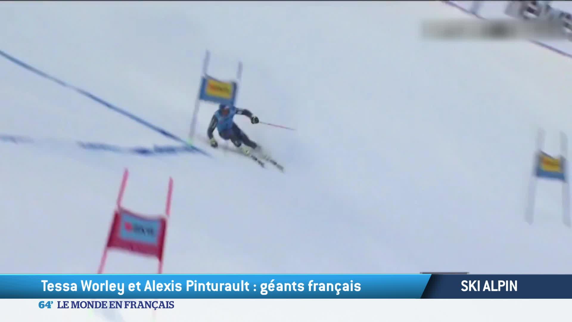 Ski : 2 victoires françaises en coupe du monde