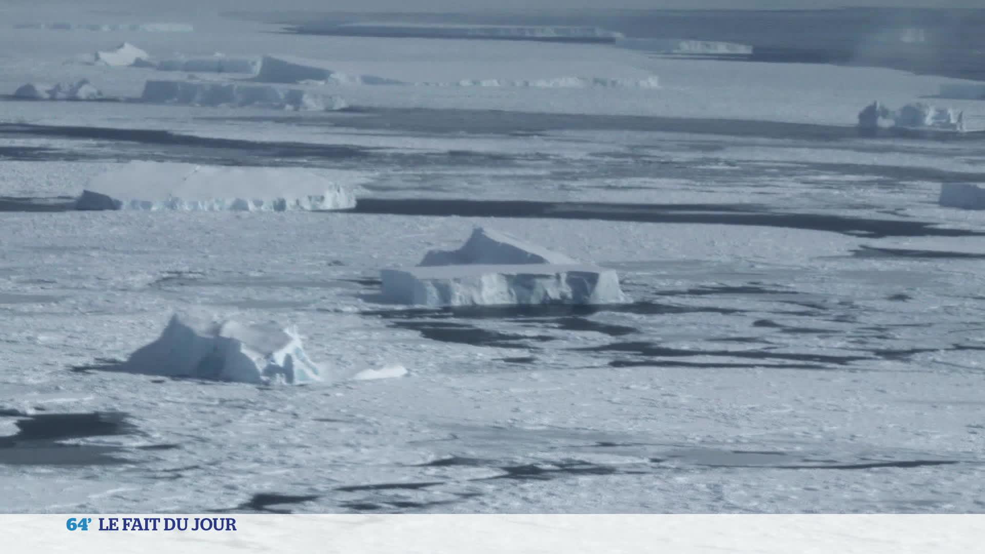 Fait du jour : un iceberg menace de se détacher de l'Antarctique