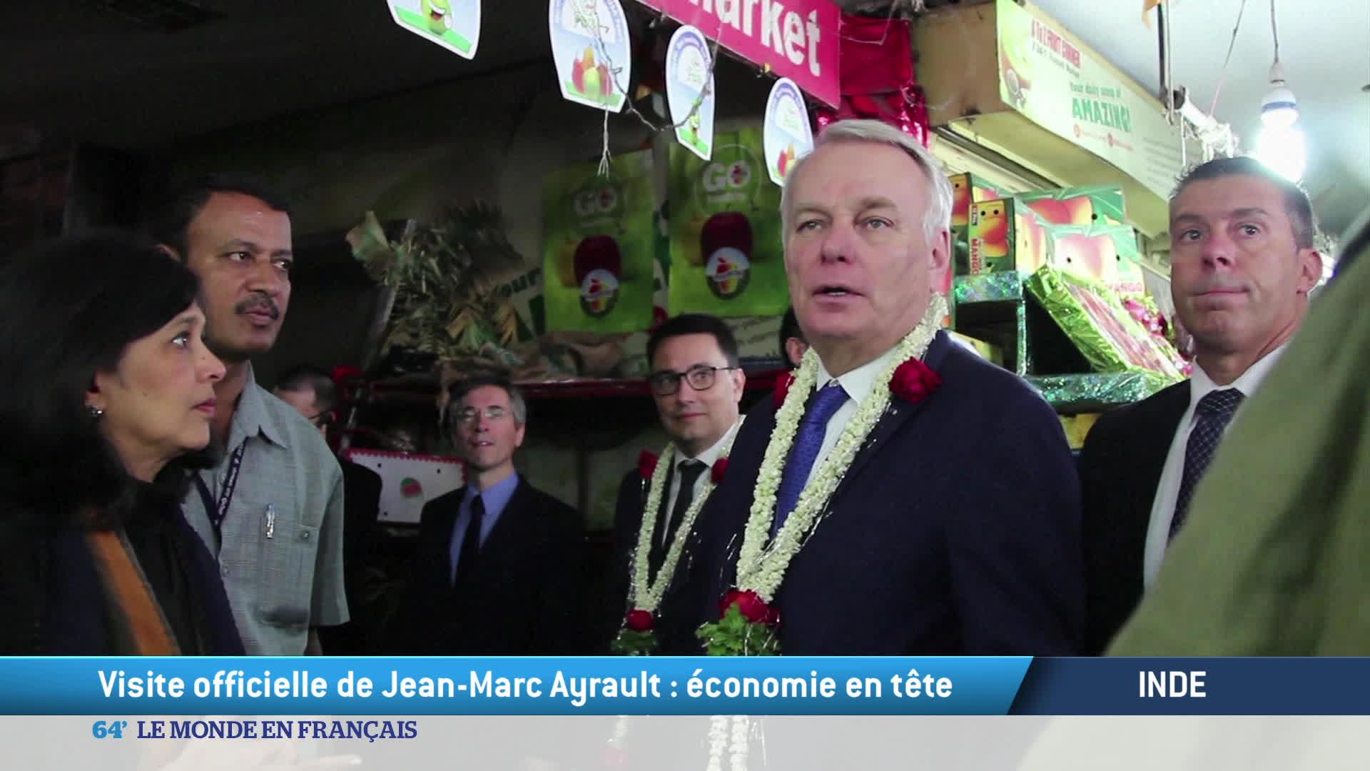Inde : visite officielle de Jean-Marc Ayrault