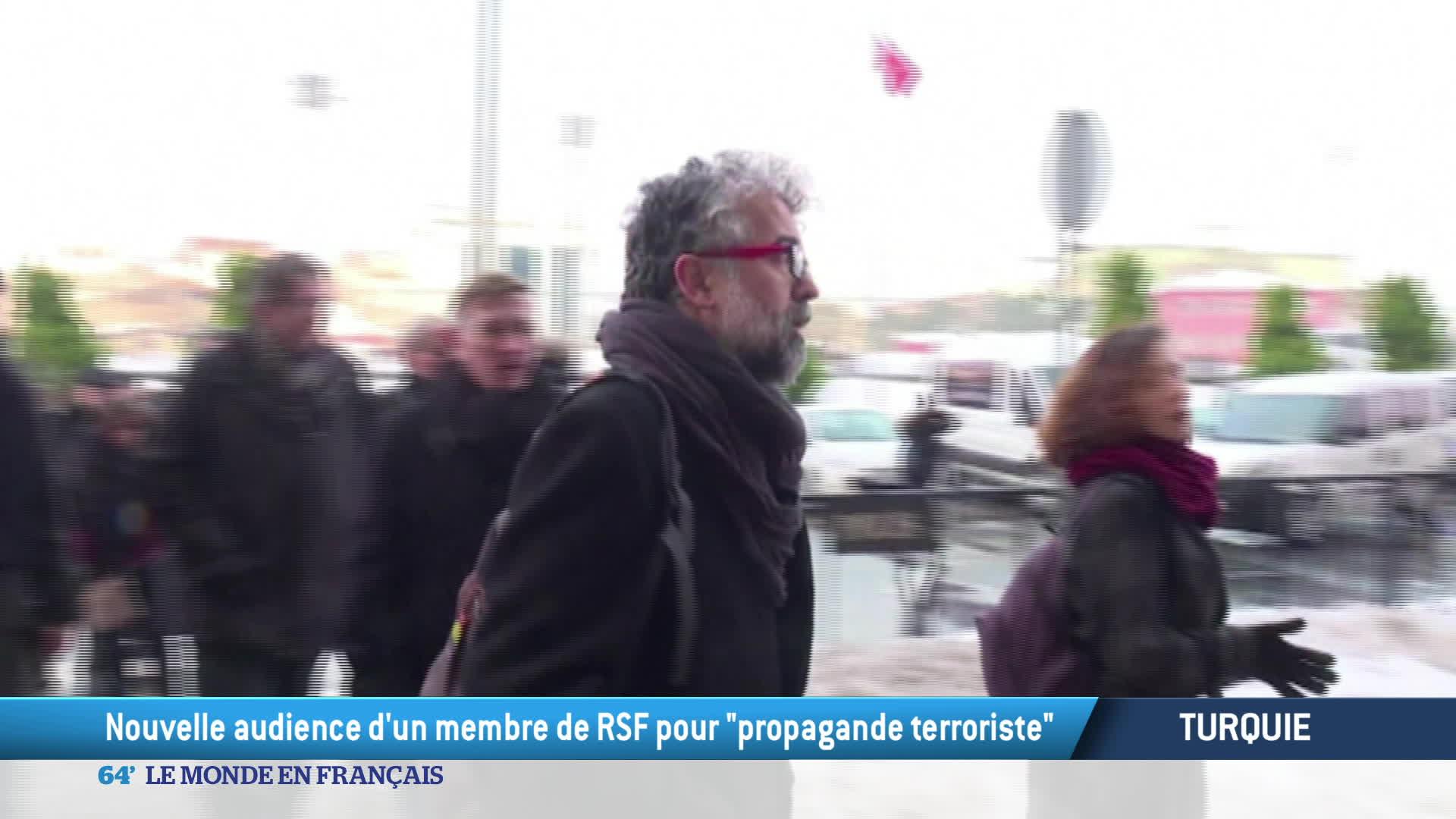 Le procès de Erol Önderoglu en Turquie