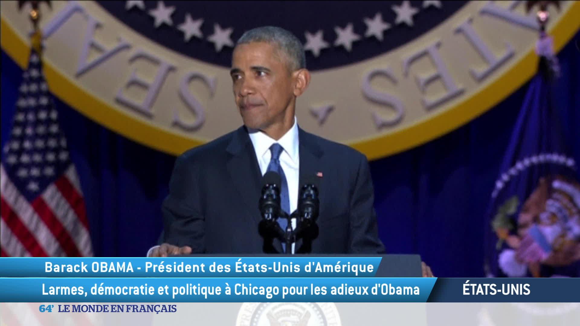 Discours d'adieux de Barack Obama