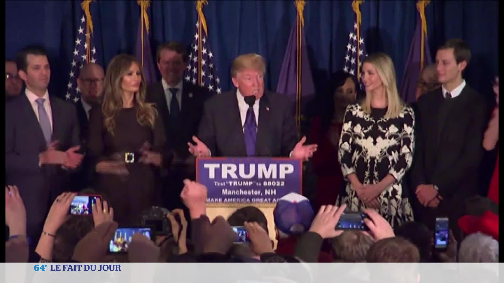 Conférence de presse de Donald Trump