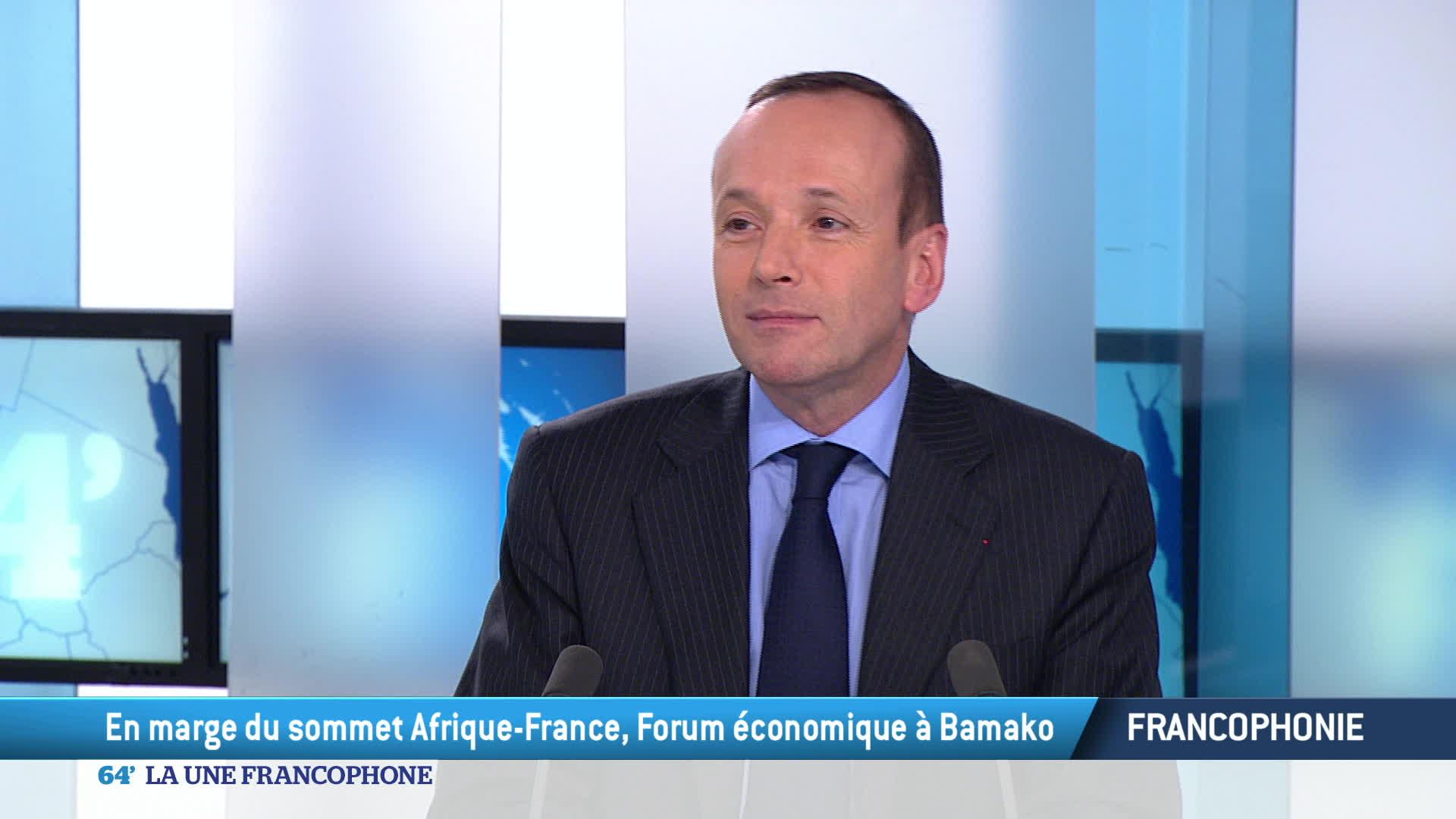 La 'Une francophone'