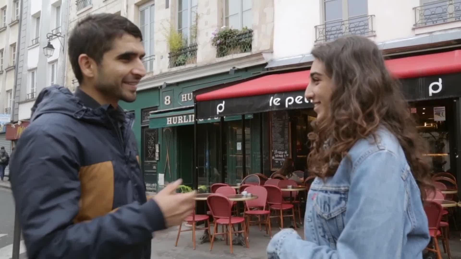 Apprendre le français, une question de survie - Lucie à Paris