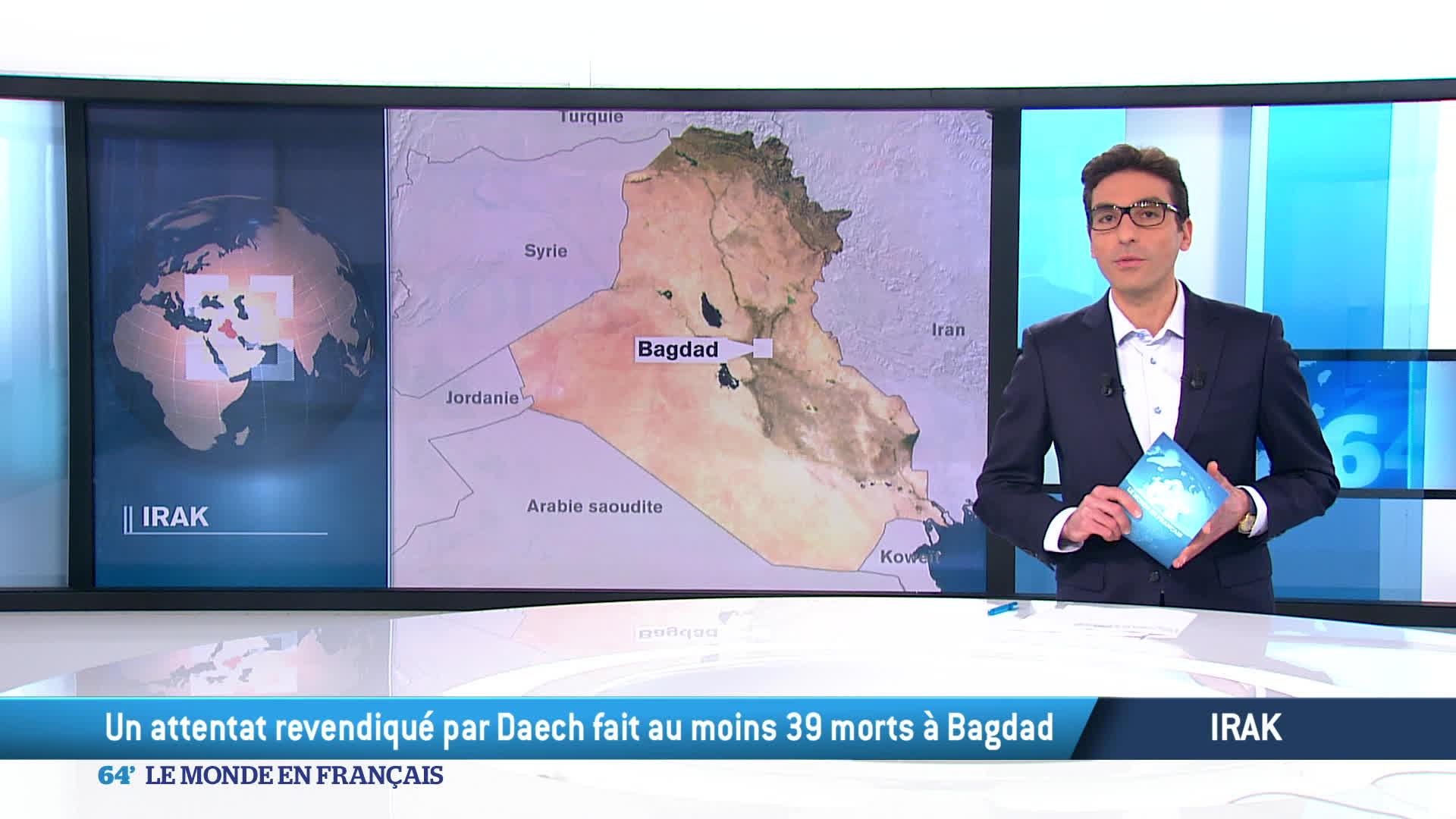 Irak : Daech frappe à nouveau au coeur de Bagdad